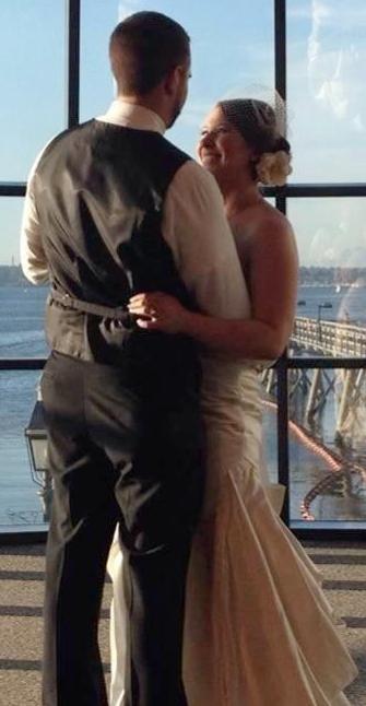 Lindsay Omta (trouwfoto)