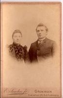 Weke Wiertsema (1839 - 1918) & Klaas Aldert Omta (1836 - 1916)